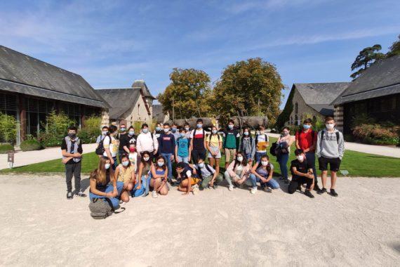 Visite dans les jardins de Chaumont 3èmes